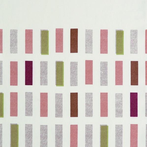 コルネ カーテン生地 タイル ピンク 150×700cm G1010 1枚