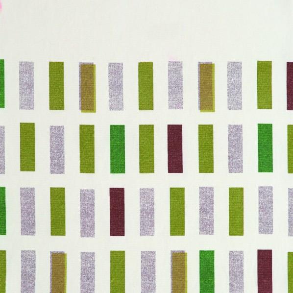 コルネ カーテン生地 タイル グリーン 150×900cm G1011 1枚