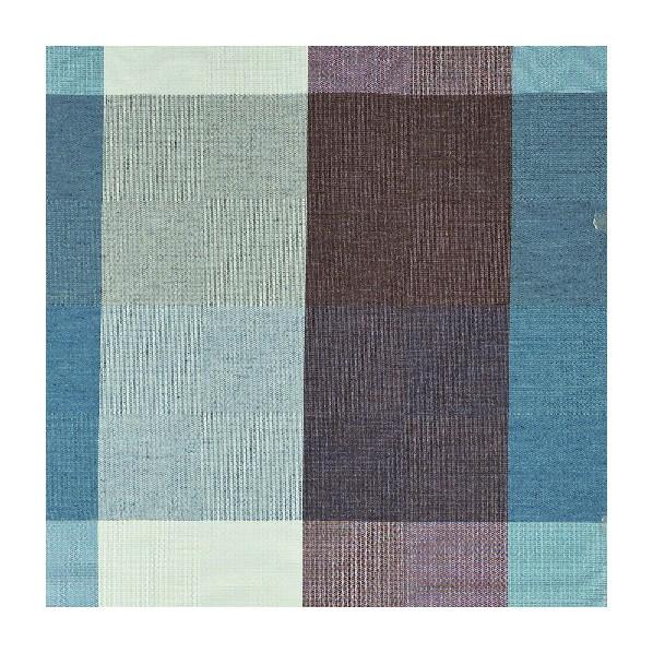 コルネ カーテン生地 カレ ブルー 150×600cm G1015 1枚