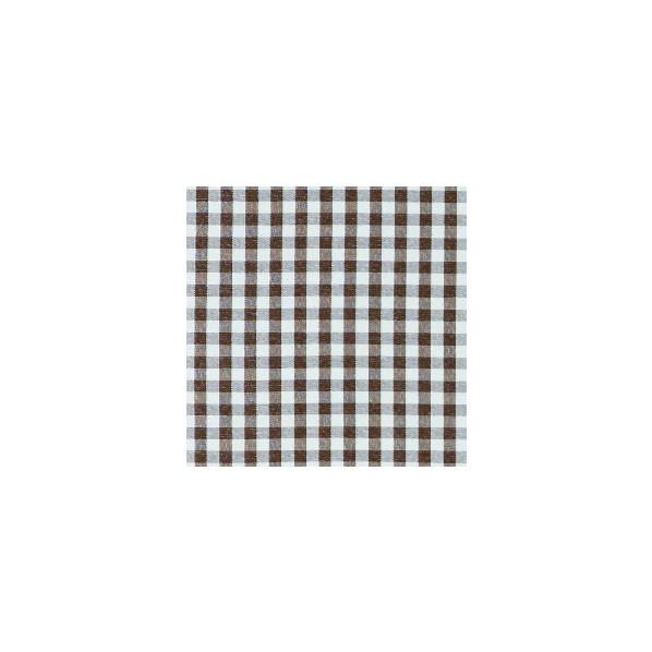 コルネ カーテン生地 ギンガム ブラウン 150×800cm G1019 1枚