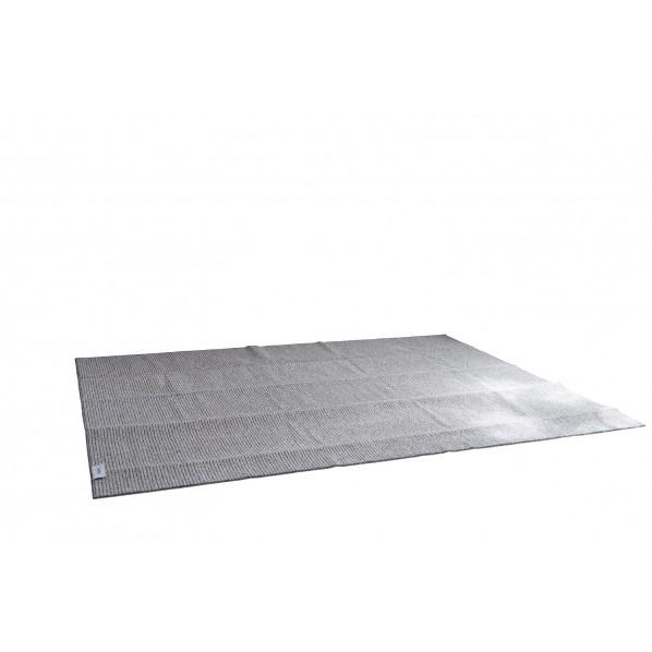 カルル 洗えるラグ PPL-1 グレー 幅250×長さ250cm 13282794 1本