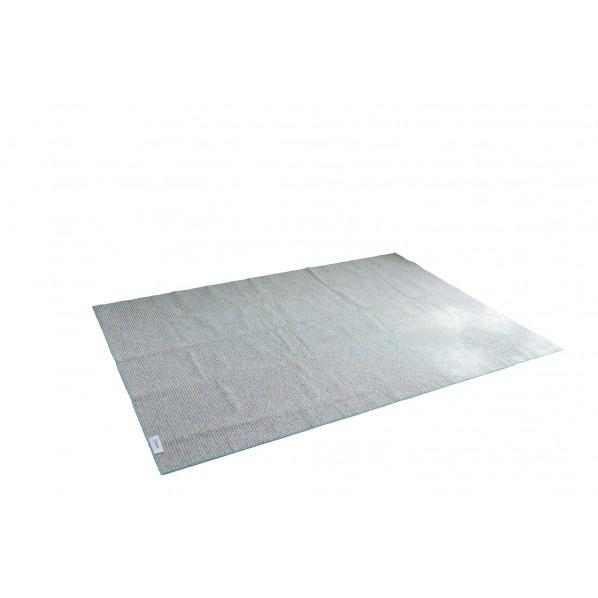 カルル 洗えるラグ PPL-1 ターコイズ 幅250×長さ250cm 13282794 1本