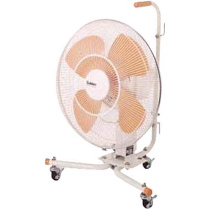 スイデン キャスター扇(送風機フロアファン)ハネ45cm首振式 45CD-IV