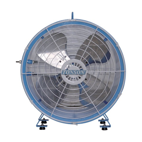 アクアシステム エアモーター式軸流型送風機(アルミハネ45cm) 295 x 600 x 605 mm