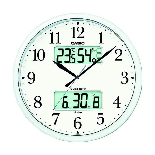 カシオ 電波掛け時計 350 x 350 x 54 mm