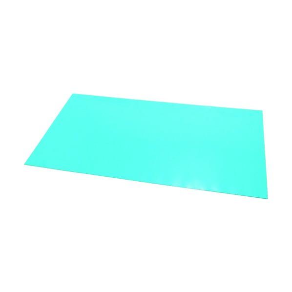 x x 1120 150 ステップマット薄型3mm厚900×600ブルーグリーン 310 MAT3-0906 エクシール mm