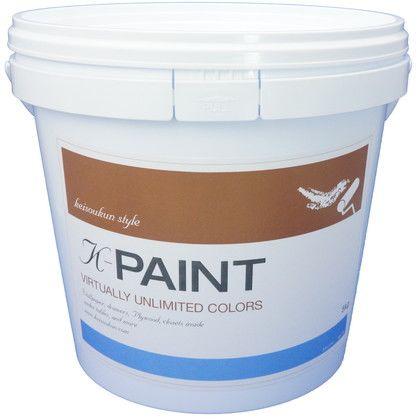 ワンウィル K-PAINT 珪藻土塗料 5kg スカイブルー