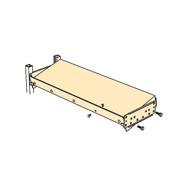 サカエ 中軽量ラックRL型・RLW型用 オプション傾斜棚板セット MS1860KT 1台