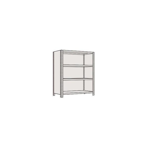 サカエ 物品棚LE型(120kg/段・高さ1500mm・4段タイプ) LE9744 1台