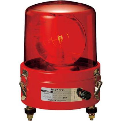 パトライト ブザー付き大型回転灯 SKLB-110A-R