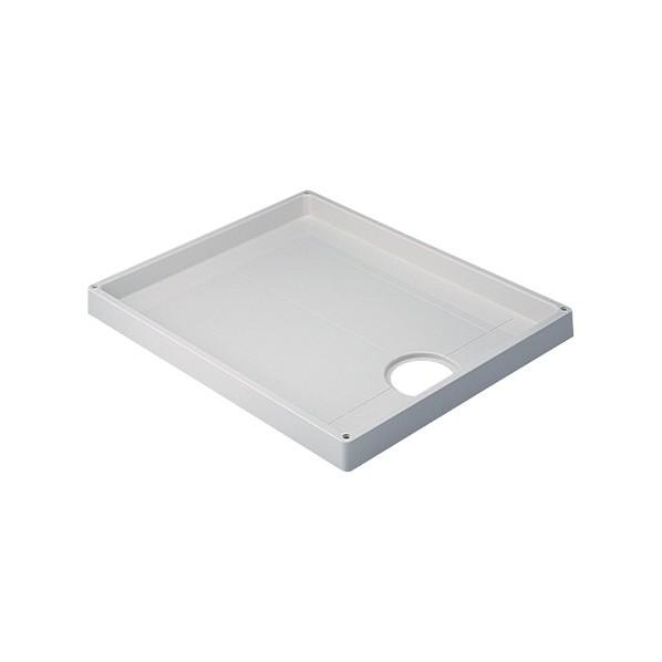 カクダイ(KAKUDAI) 洗濯機用防水パン 750×640×63 ホワイト 426-413-W 1個