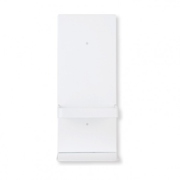 海外並行輸入正規品 株 期間限定特価品 満点商会 消毒液ホルダー 壁掛 ポリッシュホワイト MAB-110 W120×H285×D110 1台