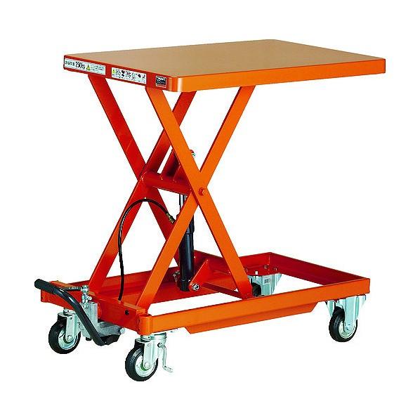 トラスコ TRUSCO 作業台リフター 供え オレンジ HLLA-E500MW 昇降方 チープ 1台