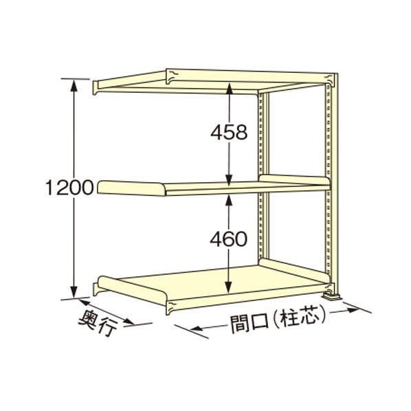 扶桑金属工業 中量ラック 至高 900×900×1200mm アイボリー 1点 低価格 WM1209K03R