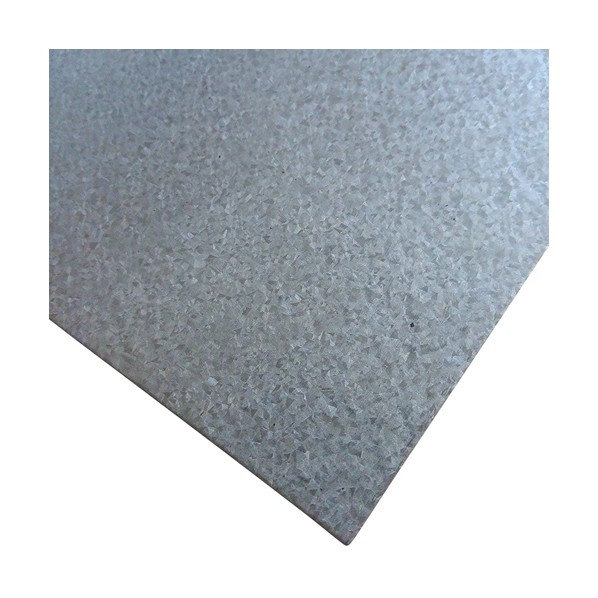 TETSUKO ガルバリウム鋼板 品質保証 G3321 t0.4mm B0849X4QML 日本製 W400×L400mm 8枚