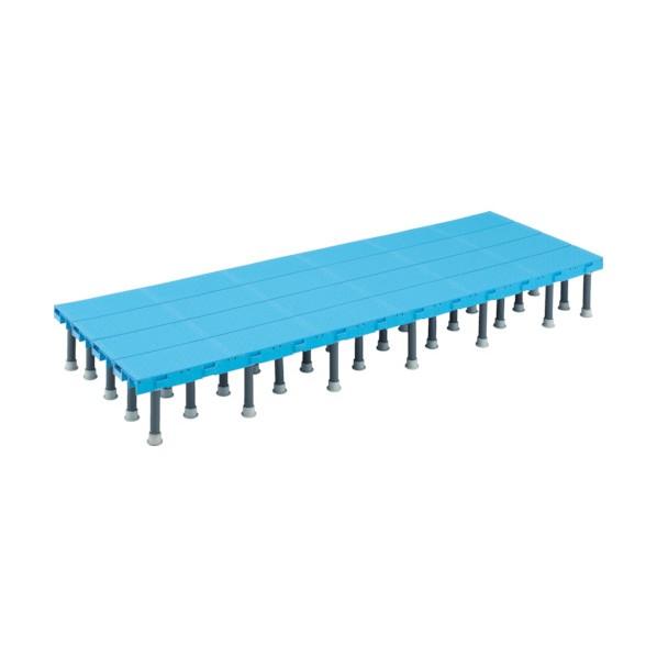 トラスコ TRUSCO 樹脂ステップ高さ調節式600X900 セール価格 格安店 H200-220 DS-6090H