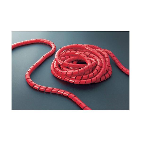 トラスコ TRUSCO スパイラルチューブ10m結束径12.0~35.0赤 販売期間 限定のお得なタイムセール 265 x 270 入荷予定 65 1点 mm TSP15R