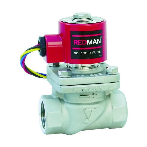 ヨシタケ 電磁弁レッドマン15A 168 x 114 受注生産品 DP-100-15A セール開催中最短即日発送 mm 82