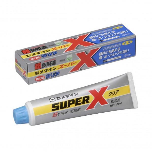 セメダイン スーパーX超多用途 135ml クリア AX-041 1本