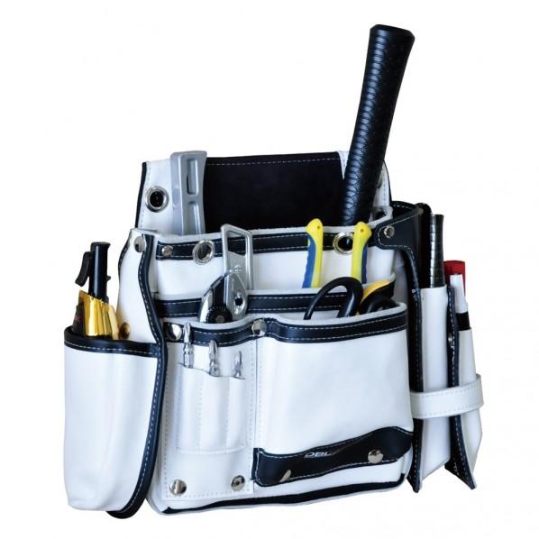 期間限定で特別価格 DBLTACT 本革釘袋 卓越モデル DTL-99-WH 価格交渉OK送料無料 白