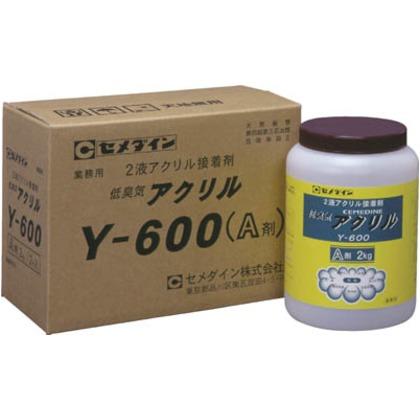 セメダイン メタルロックY600A剤2kg AY-021