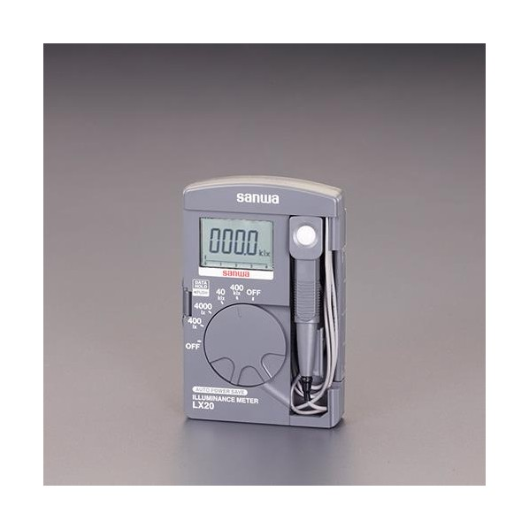 毎日がバーゲンセール エスコ esco ポケット型 10%OFF EA712B-11A デジタル照度計 1台