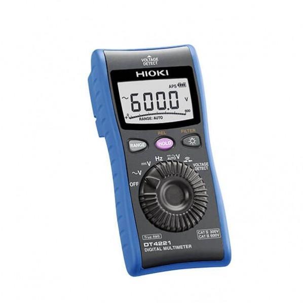 日置電機 デジタルマルチメーター C測定 タイムセール 抵抗測定用 結婚祝い DT4221SYORUI3TENTUKI 1点