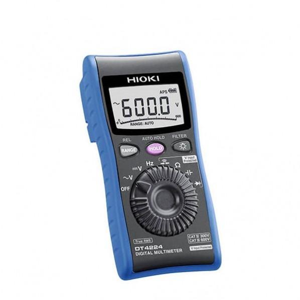 日置電機 デジタルマルチメーター 上品 検電機能ナシ 1点 全国一律送料無料 DT4224SYORUI3TENTUKI