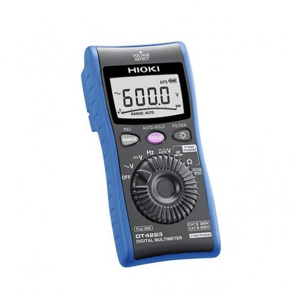新発売 日置電機 デジタルマルチメーター 検電機能付 1点 優先配送 DT4223SYORUI3TENTUKI