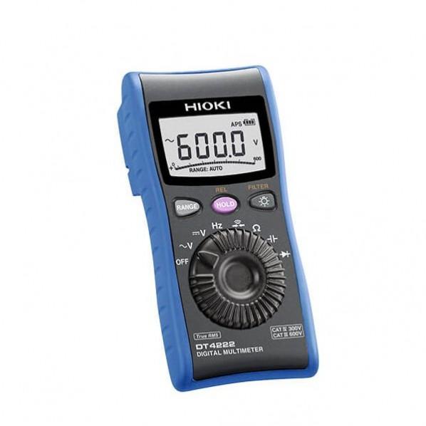 日置電機 デジタルマルチメーター 電圧測定用 『1年保証』 10%OFF DT4222SYORUI3TENTUKI 1点