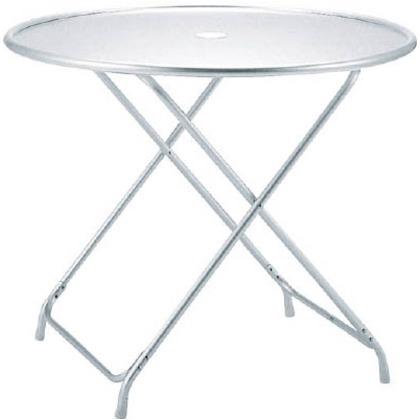 テラモト ガーデンアルミテーブル(折畳式) MZ-610-120-0