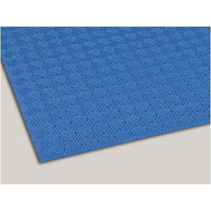 テラモト ダイヤマットグリッド青92cm×10m MR-159-000-3 1本
