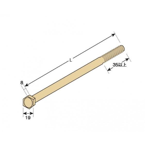 タナカ Z六角ボルト M12 375 AB337500 50本
