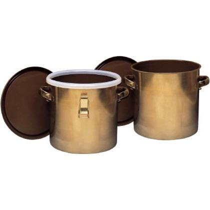 フロンケミカル フッ素樹脂コーティング密閉タンク(金具付)膜厚約50μ80L NR0378-014