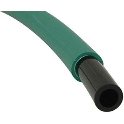 チヨダ エルフレックス二重管チューブ6mm/100m緑 GN LE-6 G 100M