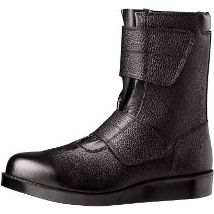 ミドリ安全 舗装工事用安全靴VR235ブラック28cm VR235-28.0