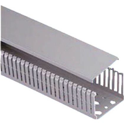 パンドウイット MCタイプ配線ダクト(PVC製鉛フリー)グレー MC75X100IG2