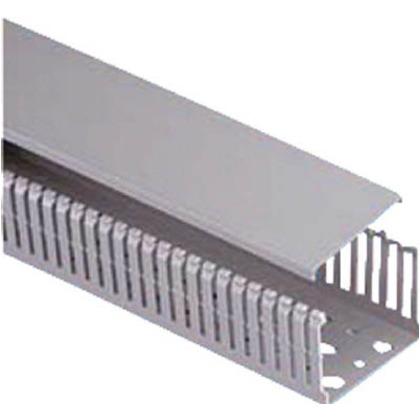 パンドウイット MCタイプ配線ダクト(PVC製鉛フリー)グレー MC75X75IG2