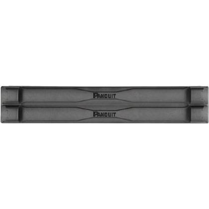 パンドウイット 19インチラック用ツールレスブランクパネル (2U) 495.3 x 184.15 x 107.95 mm TLBP2S-V 5 個入