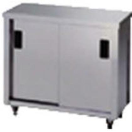 アズマ ステンレス保管庫(片面引違戸)1200×900×800 AC-1200L