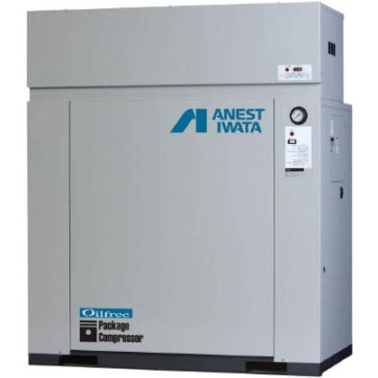 アネスト岩田 レシプロコンプレッサ(パッケージ・オイルフリータイプ)60Hz CFP110CC-14DM6