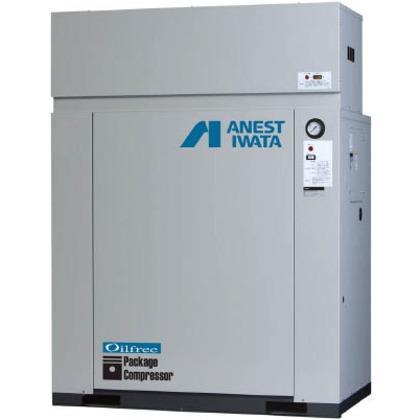 アネスト岩田 レシプロコンプレッサ(パッケージ・オイルフリータイプ)60Hz CFP55CC-14DM6