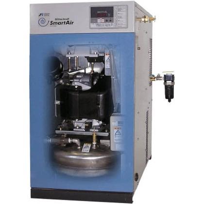 アネスト岩田 オイルフリーコンプレッサ0.75KW単相100V60Hz SLP-07EDC6