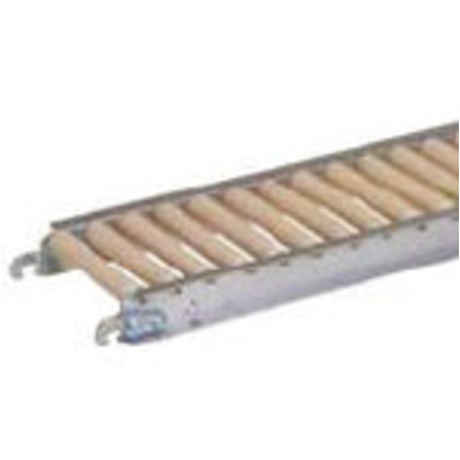 店 セントラル 期間限定送料無料 樹脂ローラコンベヤJRAU3808型100W×50P×2000L JRAU3808-100520