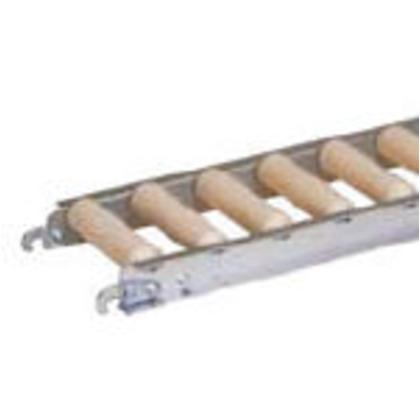 セントラル 樹脂ローラコンベヤJRAU4208型100W×100P×1500L JRAU4208-101015