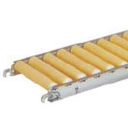 セントラル 樹脂ローラコンベヤJRB5012型400W×100P×1500L JRB5012-401015