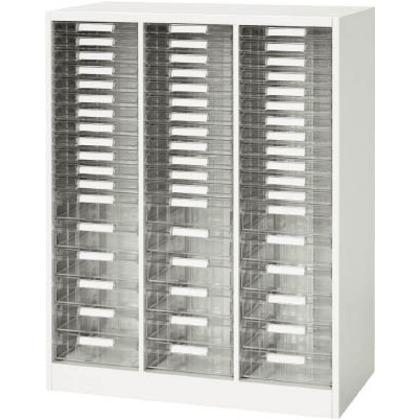 ダイシン 壁面収納庫A4レターケースコンビ型下置き専用W800ホワイト V845-11PSDA