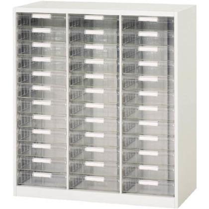 ダイシン 壁面収納庫B4レターケース型下置き専用D400ホワイト V940-11PDB