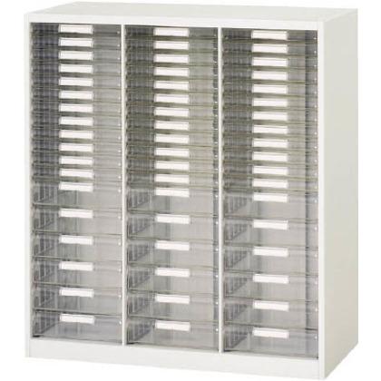 ダイシン 壁面収納庫B4レターケース型コンビ下置き専用D400ホワイト V940-11PSDB
