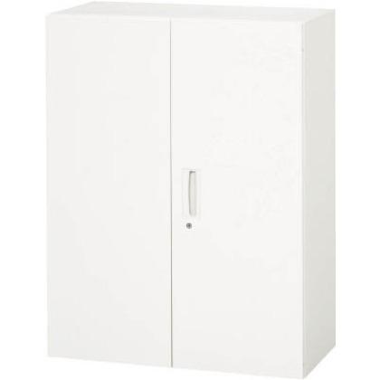 ダイシン 壁面収納庫 両開き型 上下兼用D400 ホワイト  V940-12H